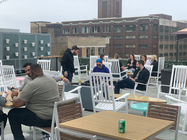 The Rooftop Bar Sunday afternoon