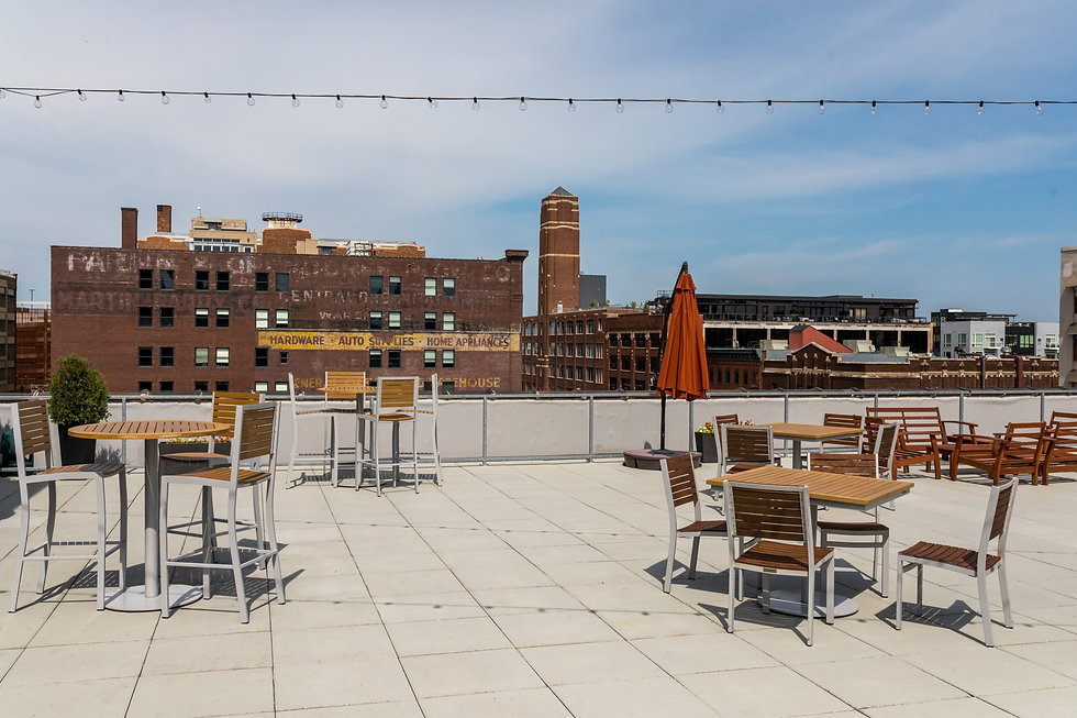 Nolo's Rooftop on a sunny day