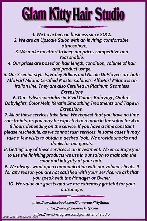 Copy of skin treatment beauty salon port