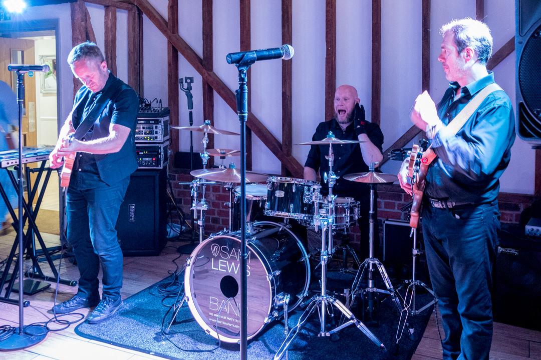 The Sam Lewis Band at Milling Barn Hertfordshire