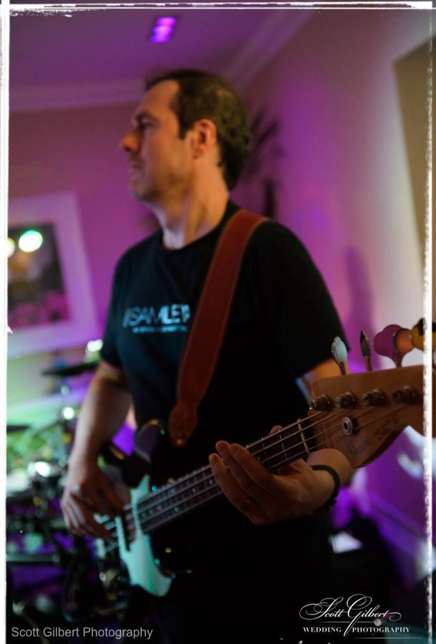Carl Holt Bass - The Sam Lewis Band - Sh