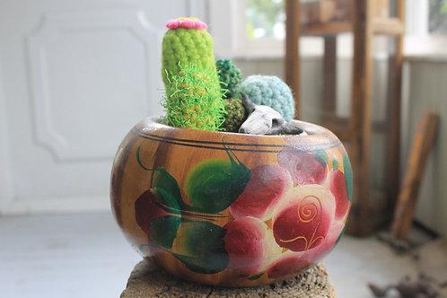 Cactus - Rose Pot