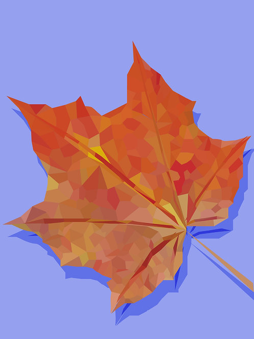 Low Poly Leaf
