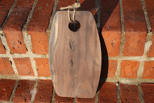 Cutting Board- Curved Black Walnut