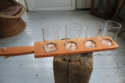 Beer Flight - Handled Cherry 4