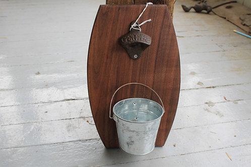 Wall Bottle Opener- With Bucket