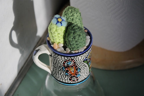 Cactus- Tiled Cup