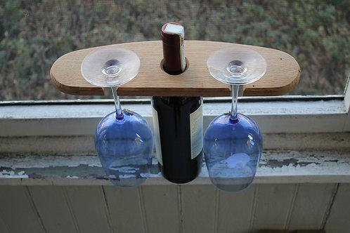 Wine Holder- Hanging Curve
