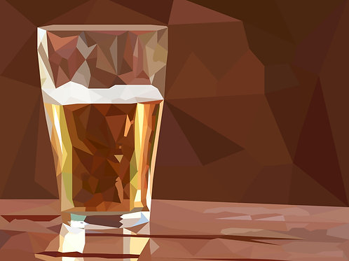 Low Poly Beer