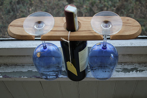 Wine Holder- Hanging Curve