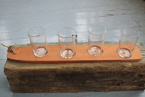 Beer Flight -Curved Cherry 4