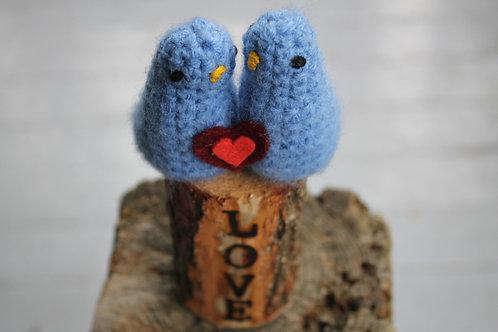 Love Birds - Blue