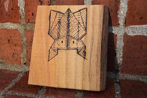 Wood Burning-Bat