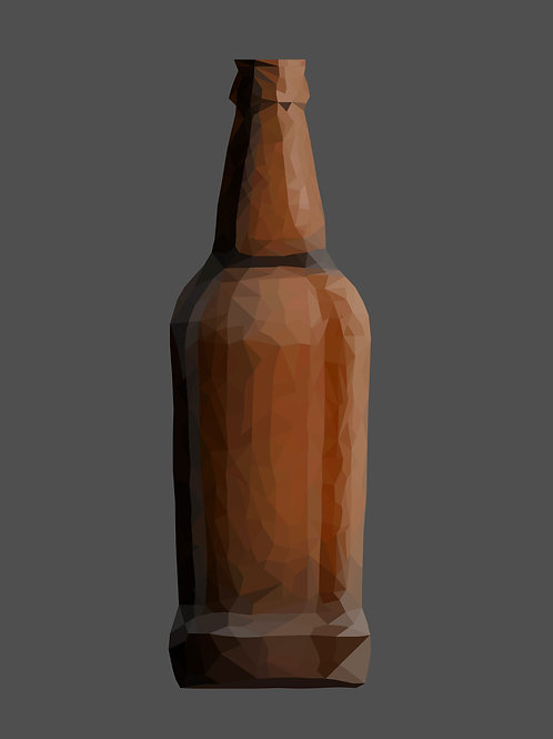 Low Poly Bottle