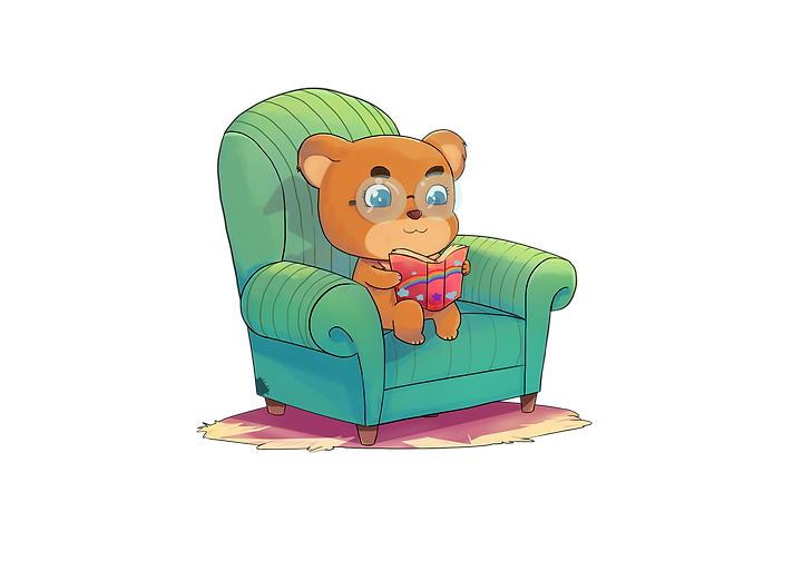 cute teddy bear read.png
