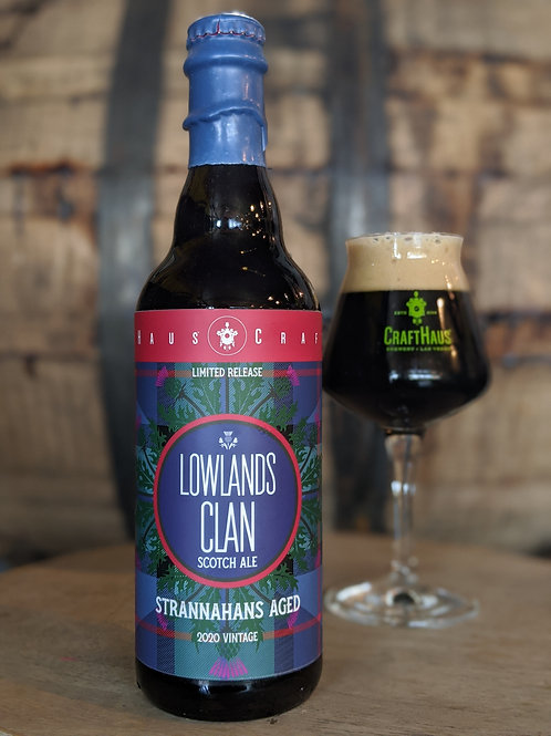 Lowlands Clan, Scotch Ale Barrel Aged