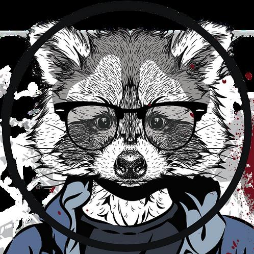 Urban Panda, Schwarzbier 16oz 4 Pack