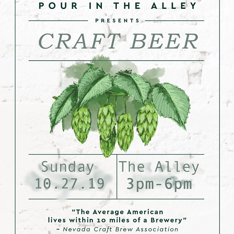 Craft Beer in the Alley Hosted by Fergusons Downtown