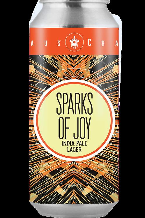 Sparks of Joy, India Pale Lager 16oz 4 pk