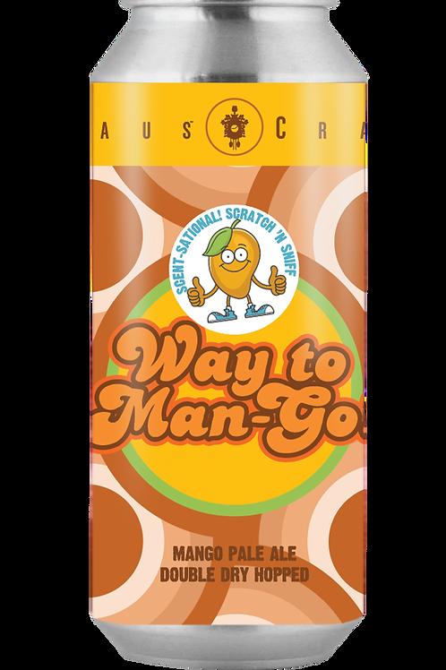Way To Man-Go! Mango Pale Ale