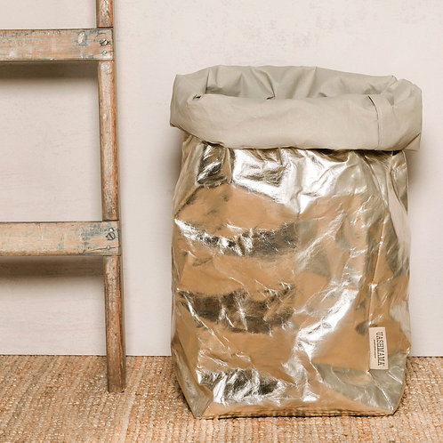PAPER BAG XXLARGE METALLIC