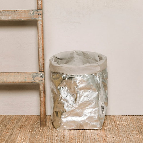 PAPER BAG XLARGE METALLIC