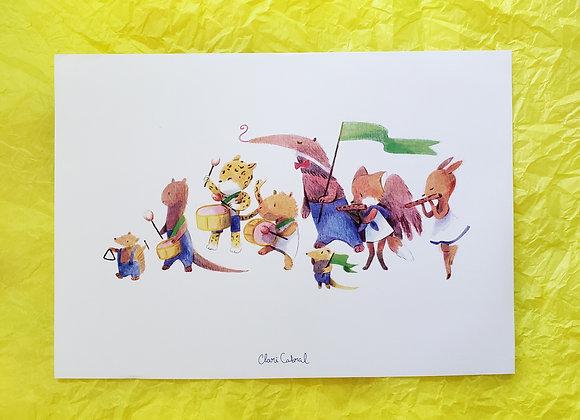 Bandinha de pífano - Print A5