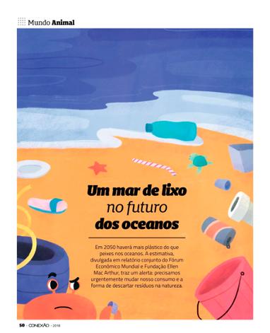 Praia de plástico   Revista Conexão FACHESF