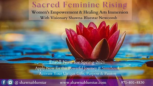 Sacred Feminine Rising Program Banner .p