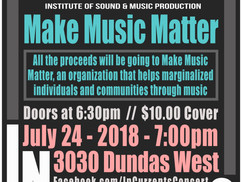 Make Music Matter/Metalworks Institute Student Fundraiser