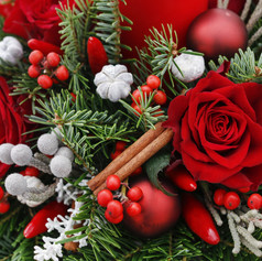 Christmas Foliage & Florals