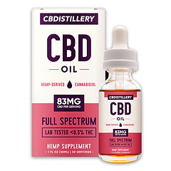 Full Spectrum CBD Oil Tincture – 2500mg – 30ml