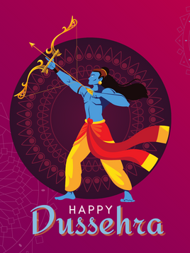 A fun way to empower the good within your child   Happy Dussehra