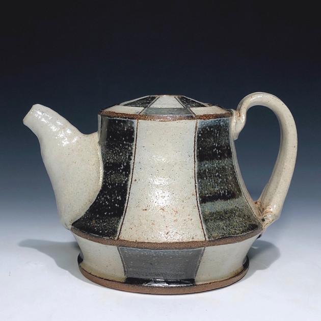 coffee pot - salt glazed