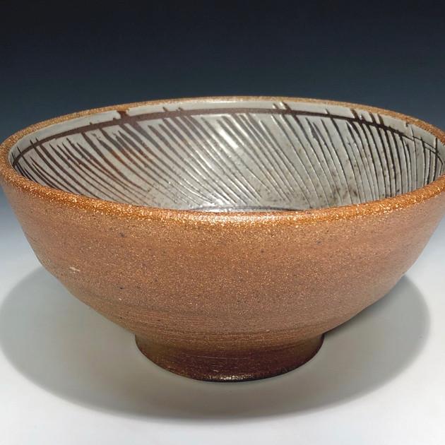 deep bowl - salt glazed