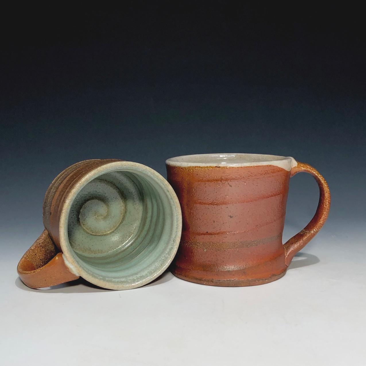 red mugs - interior