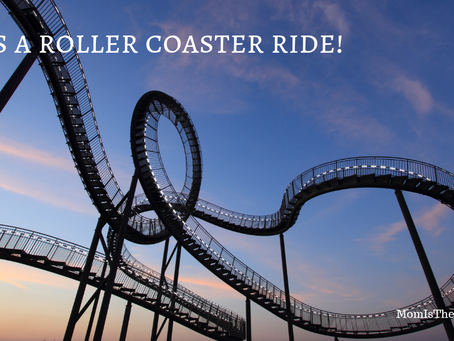 It's a roller coaster ride!