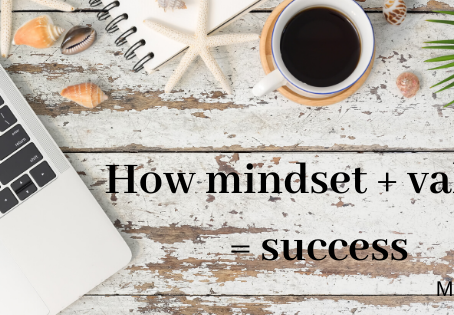 How mindset + values = success