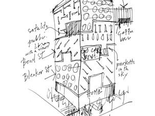 The Vertical Neighbourhood