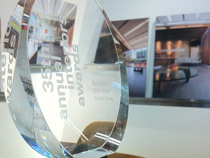 GBSA / Southside wins big for the Bloor West Dental Group at the 35th Annual Interior Awards in New