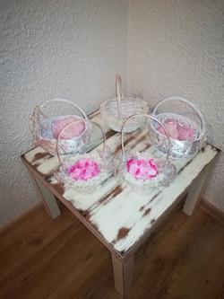 Košíčky pro družičky