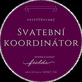 Badge_Certifikovaný_Svatební_koordiná