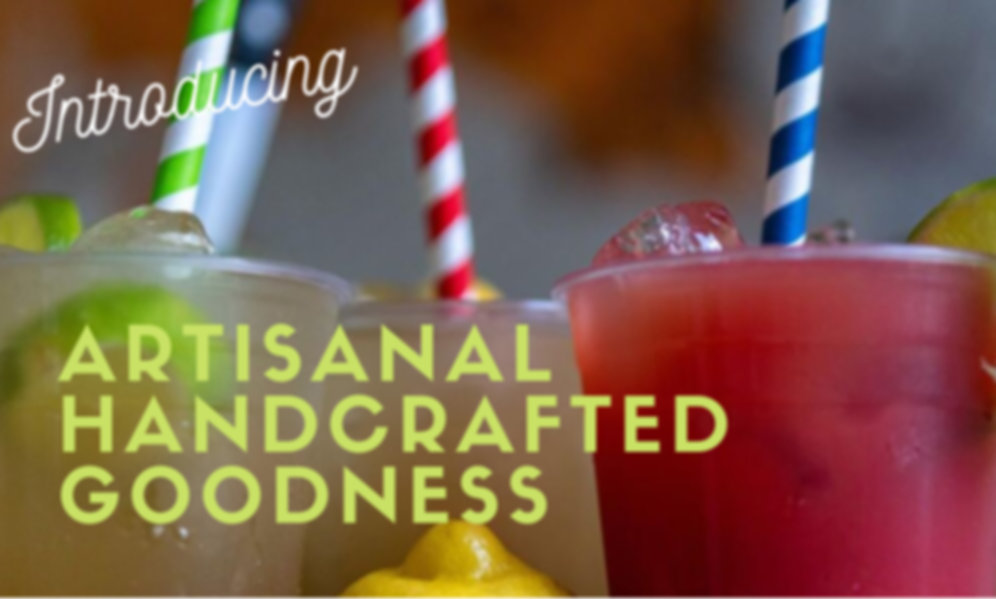 ARTISANAL HANDCRAFTED GOODNESS