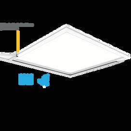 Vela Elite IP65 600 x 600 LED Panel 3000K