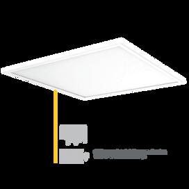 Vela Elite 600 x 600 LED Low Glare TP(a) Panel 4000K
