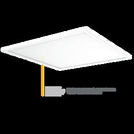 Vela Elite 600 x 600 LED Low Glare UGR<19 Panel 3000K