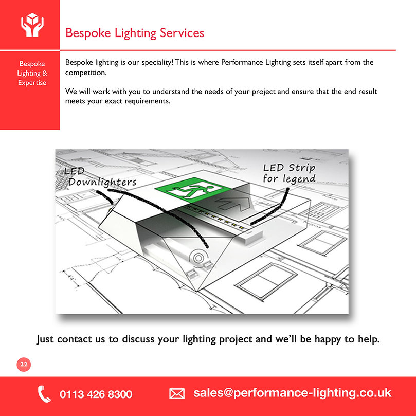 Bespoke Lighting Services