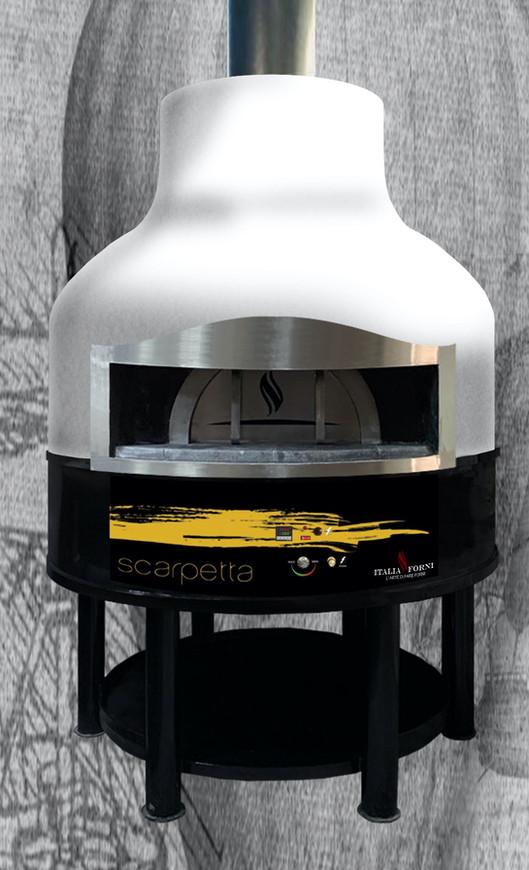 forno pizza rotante elettrico