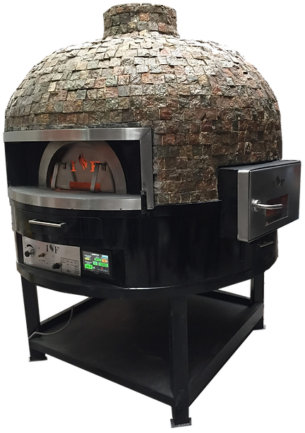 forno pizza rotativo