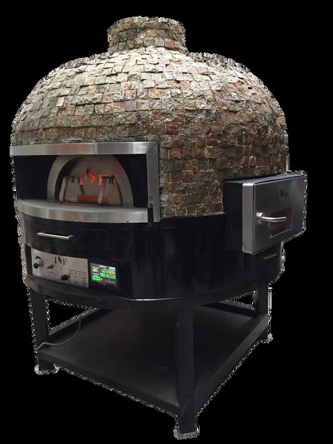 horno para pizza rotatorio